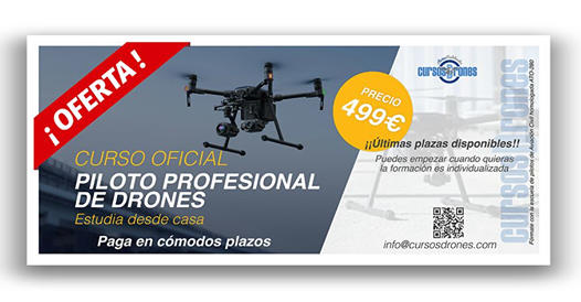 oferta curso dron en murcia
